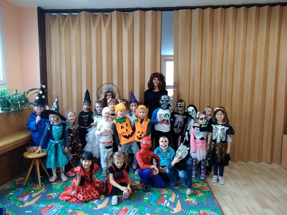 Hallowenská párty 6.11.2019